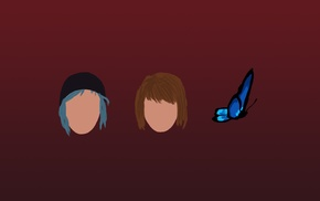 Chloe Price, butterfly, Max Caulfield, Life Is Strange