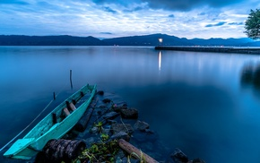 nature, Indonesia, lake
