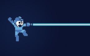 Mega Man, retro games, video games, pixels