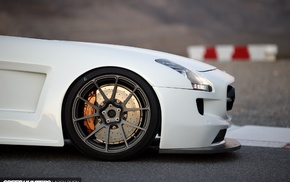 car, Mercedes, Benz SLS AMG, speed hunters, Mercedes SLS, Benz