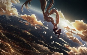 falling, Hatsune Miku, Vocaloid