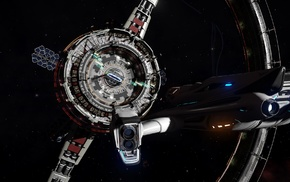 space, Elite Dangerous, video games, science fiction