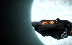 space, video games, Elite Dangerous, suns, science fiction