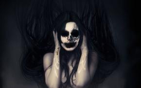 dark fantasy, photo manipulation, dark, photoshopped, fantasy art