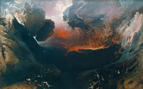The Great Day of Godly Anger, John Martin, classic art