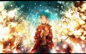 long hair, Vocaloid, anime girls, Hatsune Miku, blue hair, twintails
