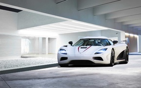 Top Gear, car, vehicle, white cars, Koenigsegg