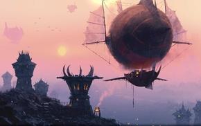 fantasy art, World of Warcraft, horde
