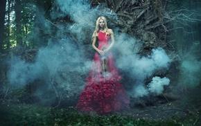 fantasy art, violin, girl, model