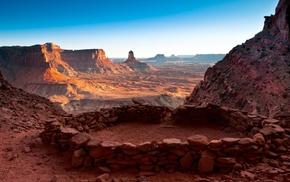 landscape, rock, nature, USA