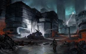 Halo, artwork, video games