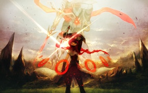 original characters, sword
