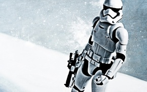 gun, Star Wars Episode VII, The Force Awakens, Star Wars, stormtrooper