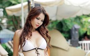 Asian, girl, model