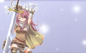 Ragnarok Online, anime girls, sword, anime