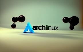 minimalism, render, arch, Arch Linux, Unix, Linux