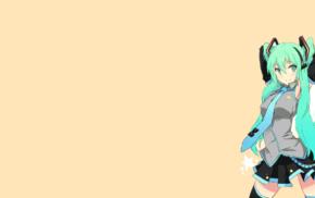 twintails, anime, Vocaloid, anime girls, Hatsune Miku