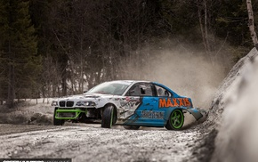 BMW, speed hunters, cars, drift, nature, BMW M3