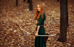 Merida, girl, redhead, archers, long hair