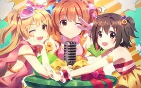 anime girls, anime, Moroboshi Kirari, THE iDOLMSTER Cinderella Girls, Yuuki Tatsuya, Jougasaki Rika