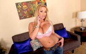 pornstar, mature girl, girl, blonde, Shyla Stylez, big boobs