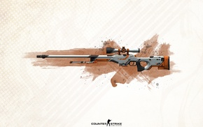 sniper rifle, Counter, Strike, Strike Global Offensive