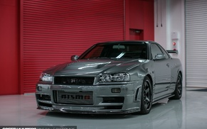 speed hunters, Nissan Skyline GT, R R34, R R34 Nismo, Nissan, car