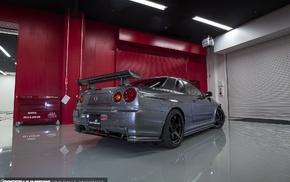 Nissan Skyline GT, R R34 Nismo, Nissan Skyline GT, R R34, car, speed hunters
