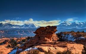nature, mountain, rock, landscape