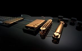 electric guitar, closeup, guitar