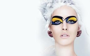 face, model, makeup