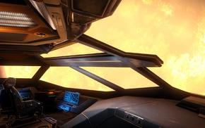 science fiction, space, Sun