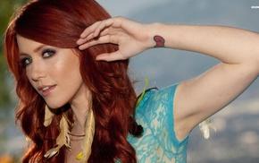 girl, redhead, Elle Alexandra