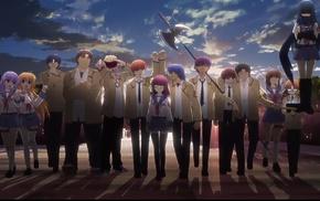 anime girls, Nakamura Yuri, Angel Beats, anime