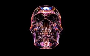 skull, artwork