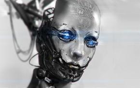 digital art, robot