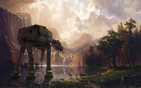 AT, Star Wars, abandoned