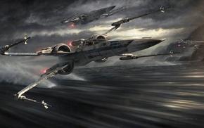 X, wing, Star Wars
