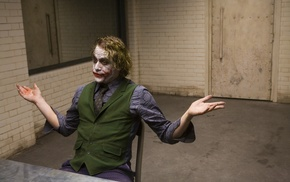 The Dark Knight, Heath Ledger, Batman, Joker