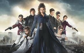 costumes, sword, actor, Lena Headey