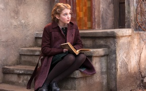 girl, The Book Thief, movies, Sophie Nlisse, books