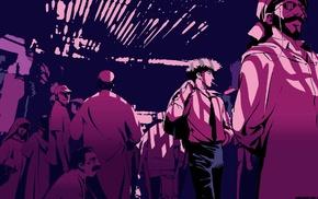 anime, Cowboy Bebop, smoking, Spike Spiegel
