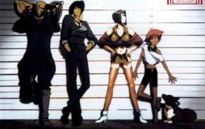 Cowboy Bebop, Spike Spiegel, anime, Faye Valentine