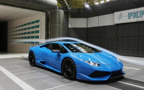 blue cars, vehicle, Lamborghini Huracan, Lamborghini, car