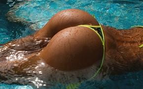 ass, bikini, swimming pool, Aleksandr Mavrin, Galina Dubenenko, girl