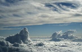 sky, landscape, clouds