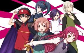 Hataraku Maou, sama, Ashiya Shirou, Sasaki Chiho, anime, Maou Sadao