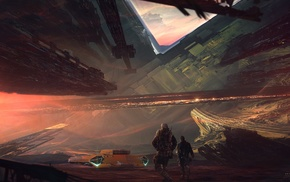 science fiction, tank, Kuldar Leement