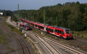 nature, train, railway