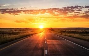 road, Sun